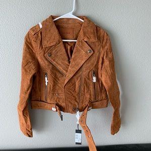 BNWT Blank NYC El Dorado Suede Jacket